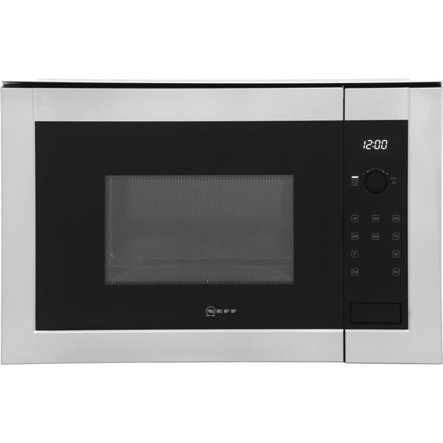 neff h11we60n0g classic collection 2 800 watt microwave built in stainless ebay. Black Bedroom Furniture Sets. Home Design Ideas