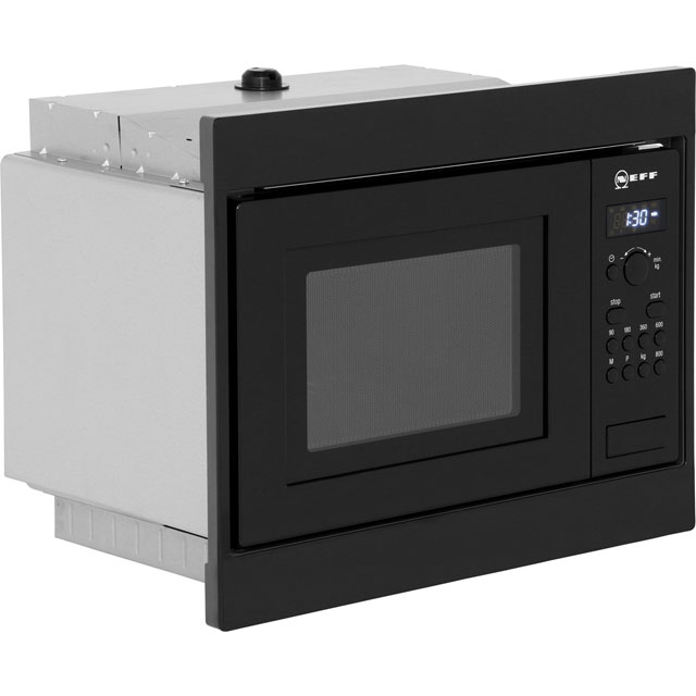 NEFF Classic Collection 3 H53W50N3GB Built In Microwave - Stainless Steel - H53W50N3GB_SS - 3