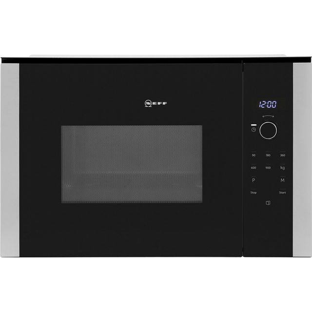 NEFF N50 HLAWD53N0B Built In Microwave - Black - HLAWD53N0B_BK - 1