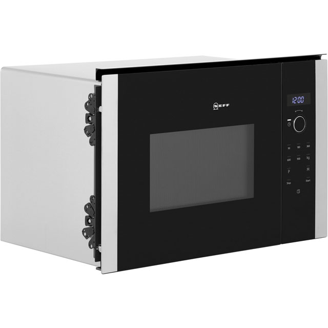 NEFF N50 HLAWD53N0B Built In Microwave - Black - HLAWD53N0B_BK - 4