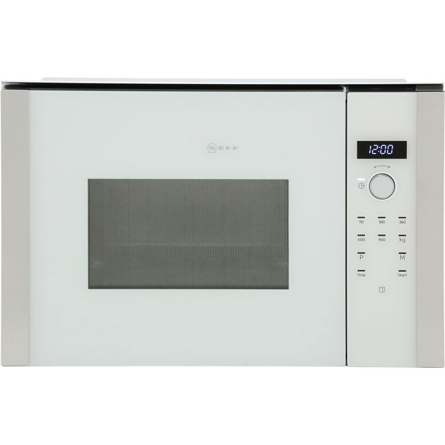 NEFF N50 HLAWD53W0B Built In Microwave - White - HLAWD53W0B_WH - 1