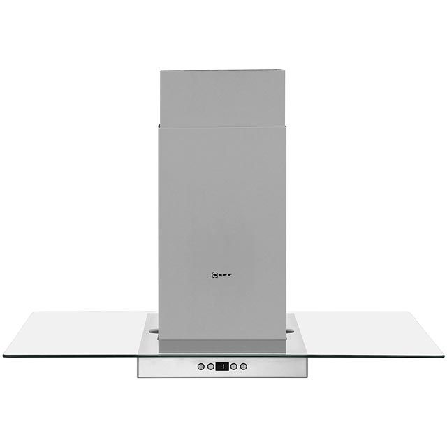 NEFF N50 I89EH52N0B 90 cm Integrated Cooker Hood - Stainless Steel / Glass - I89EH52N0B_SSG - 1