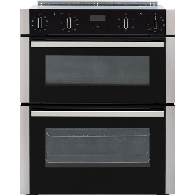 NEFF N50 J1ACE2HN0B Built Under Double Oven - Stainless Steel - A/B Rated - J1ACE2HN0B_SS - 1