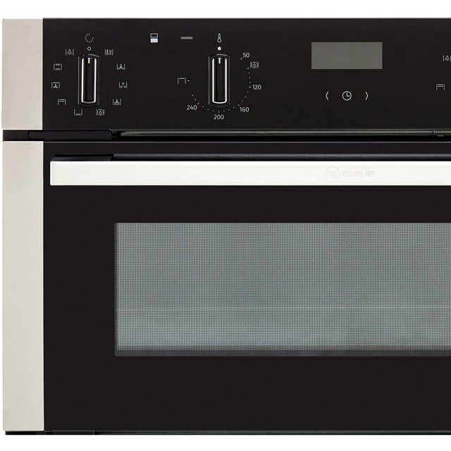 NEFF N50 J1ACE4HN0B Built Under Double Oven - Stainless Steel - J1ACE4HN0B_SS - 4