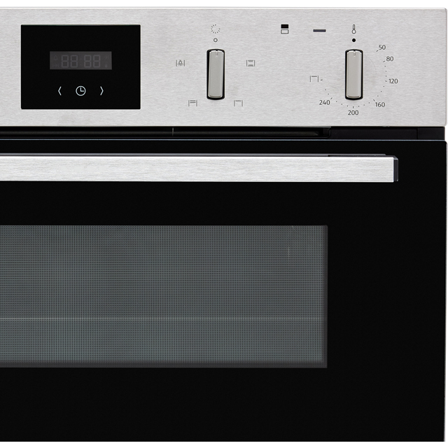 NEFF N30 J1GCC0AN0B Built Under Double Oven - Stainless Steel - J1GCC0AN0B_SS - 4