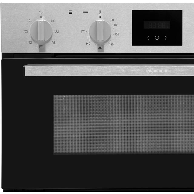 NEFF J1HCC0AN0B Built Under Double Oven - Stainless Steel - J1HCC0AN0B_SS - 3