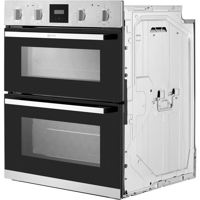NEFF J1HCC0AN0B Built Under Double Oven - Stainless Steel - J1HCC0AN0B_SS - 5