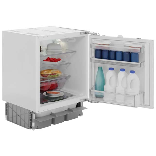 NEFF N50 K4316X7GB Integrated Under Counter Fridge - Fixed Door Fixing Kit - White - A+ Rated - K4316X7GB - 1