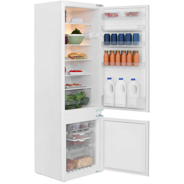 NEFF N30 K8524X8GB Integrated 70/30 Fridge Freezer with Sliding Door Fixing Kit - White - A+ Rated
