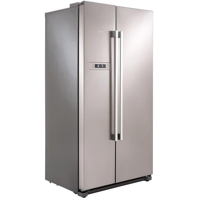 NEFF N50 KA7902I20G American Fridge Freezer - Stainless Steel - A+ Rated