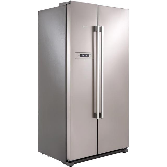 Neff KA7902I20G Side-by-side American Fridge Freezer Fingerprint Free Stainless Steel Doors
