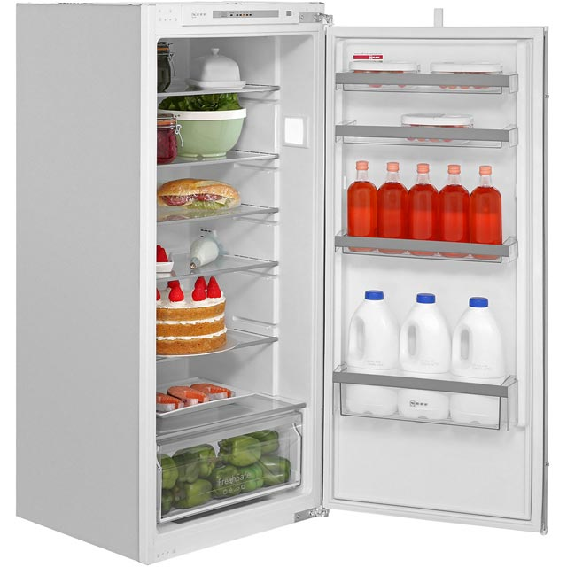 NEFF N50 KI1412S30G Built In Fridge - White - KI1412S30G_WH - 1