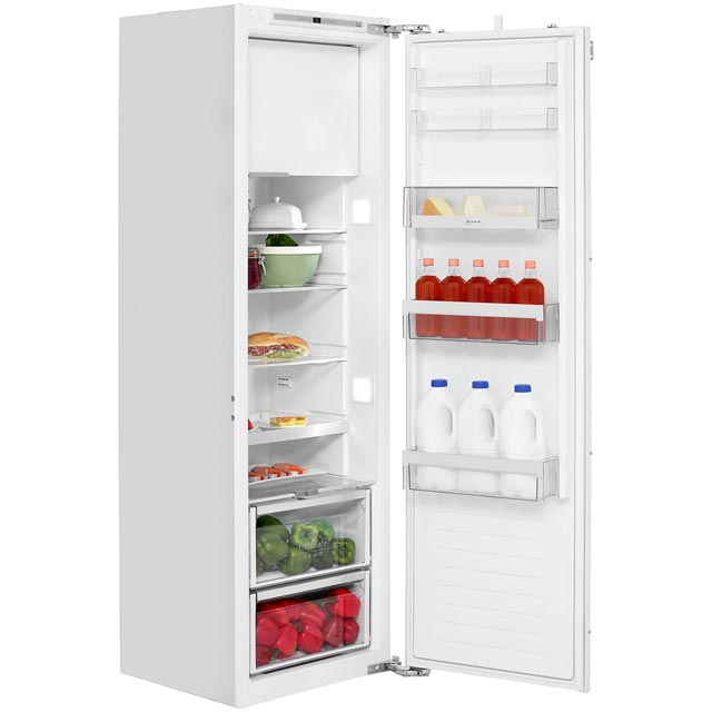 NEFF N70 KI2823F30G Integrated Upright Fridge with Ice Box - Fixed Door Fixing Kit - White - A++ Rated - KI2823F30G_WH - 1