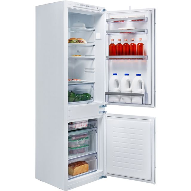 NEFF N50 KI5862S30G Integrated 60/40 Fridge Freezer with Sliding Door Fixing Kit - White - A++ Rated - KI5862S30G_WH - 1