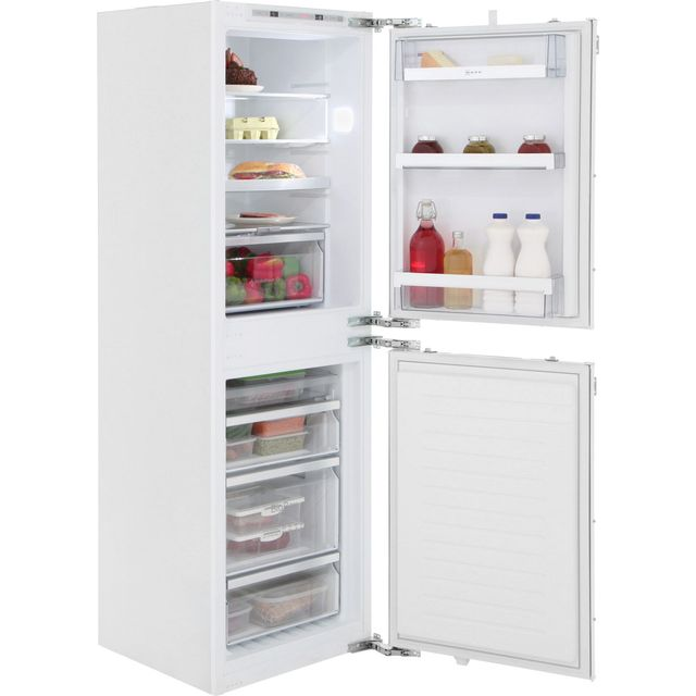 NEFF N70 KI7853D30G Built In Fridge Freezer - White - KI7853D30G_WH - 4