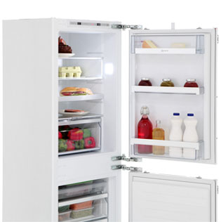 NEFF N70 KI7853D30G Built In Fridge Freezer - White - KI7853D30G_WH - 5