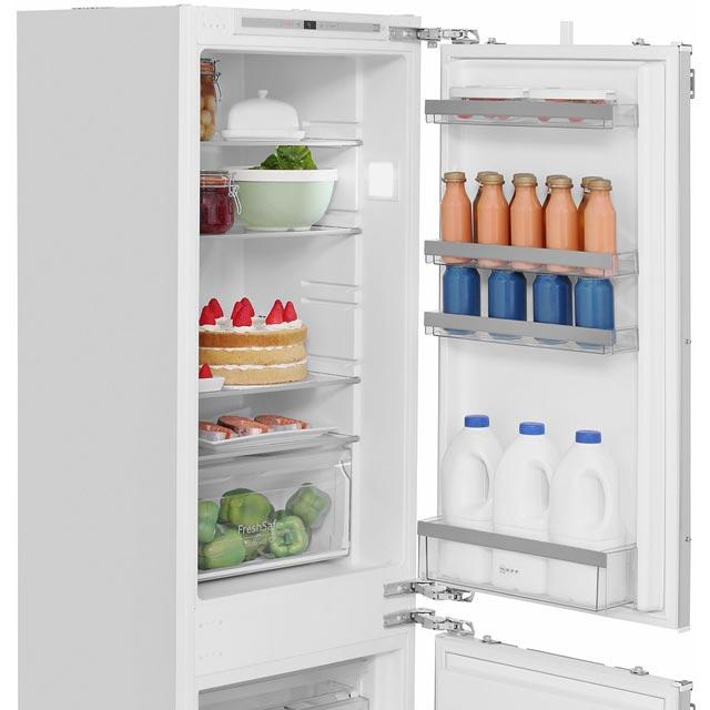 Neff N50 Ki7862f30g Built In Fridge Freezer White