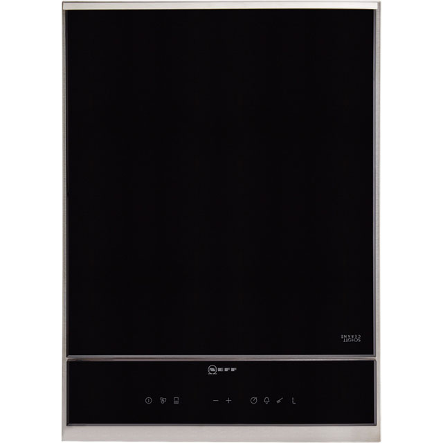 NEFF N90 40cm Solid Plate Hob - Stainless Steel