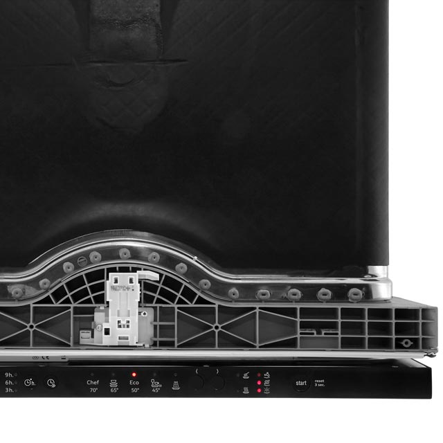 NEFF N30 S511A50X1G Fully Integrated Standard Dishwasher - Black - S511A50X1G_BK - 5