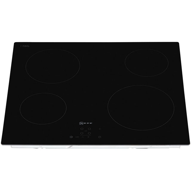 NEFF N50 T10B40X2 Built In Ceramic Hob - Black - T10B40X2_BK - 4