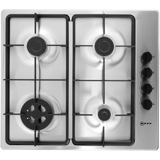NEFF T26BR56N0 Integrated Gas Hob in Stainless Steel