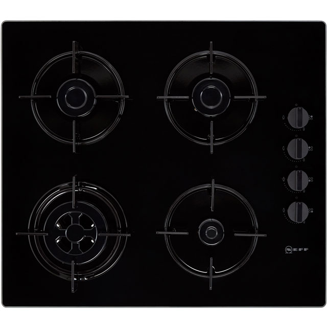 NEFF N30 T26CR51S0 Built In Gas Hob - Black - T26CR51S0_BK - 1