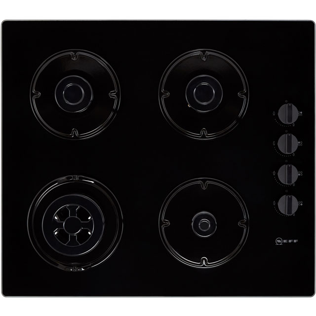 NEFF N30 T26CR51S0 Built In Gas Hob - Black - T26CR51S0_BK - 4