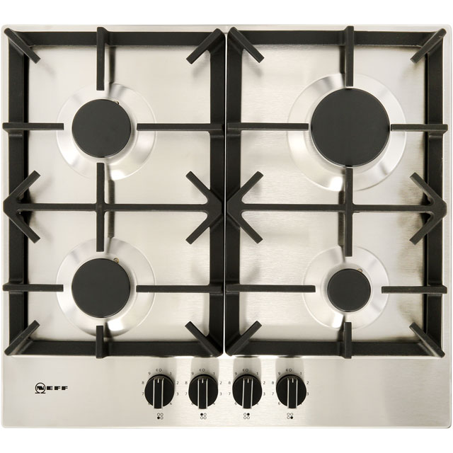 NEFF N70 T26DS49N0 Built In Gas Hob - Stainless Steel - T26DS49N0_SS - 1