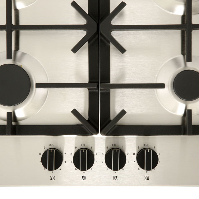 NEFF N70 T26DS49N0 Built In Gas Hob - Stainless Steel - T26DS49N0_SS - 4