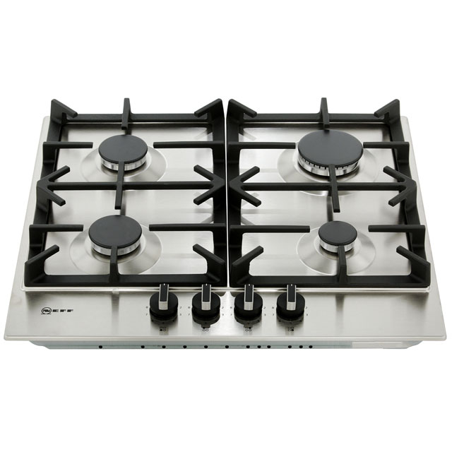 NEFF N70 T26DS49N0 Built In Gas Hob - Stainless Steel - T26DS49N0_SS - 5