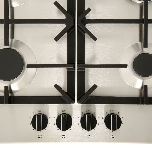 NEFF N70 T26DS59N0 Built In Gas Hob - Stainless Steel - T26DS59N0_SS - 4