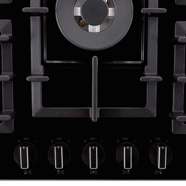NEFF N70 T27CA59S0 Built In Gas Hob - Black - T27CA59S0_BK - 5