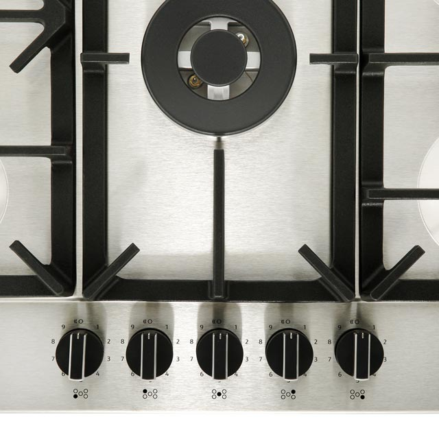 NEFF N70 T27DS59N0 Built In Gas Hob - Stainless Steel - T27DS59N0_SS - 4
