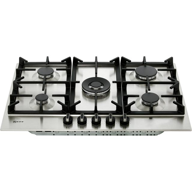 NEFF N70 T27DS59N0 Built In Gas Hob - Stainless Steel - T27DS59N0_SS - 5
