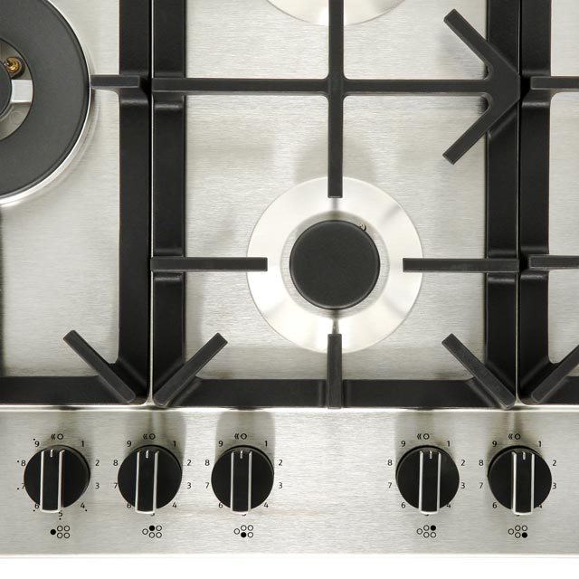 NEFF N70 T27DS79N0 Built In Gas Hob - Stainless Steel - T27DS79N0_SS - 4