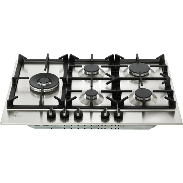 NEFF N70 T27DS79N0 Built In Gas Hob - Stainless Steel - T27DS79N0_SS - 5