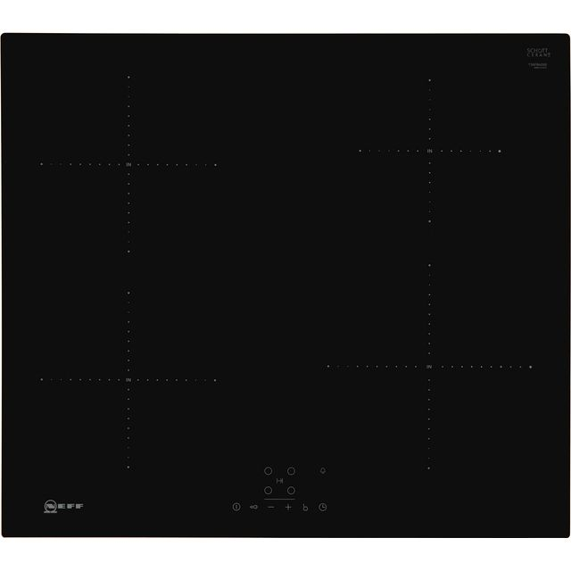NEFF N50 T36FB40X0 59cm Induction Hob - Black - T36FB40X0_BK - 1
