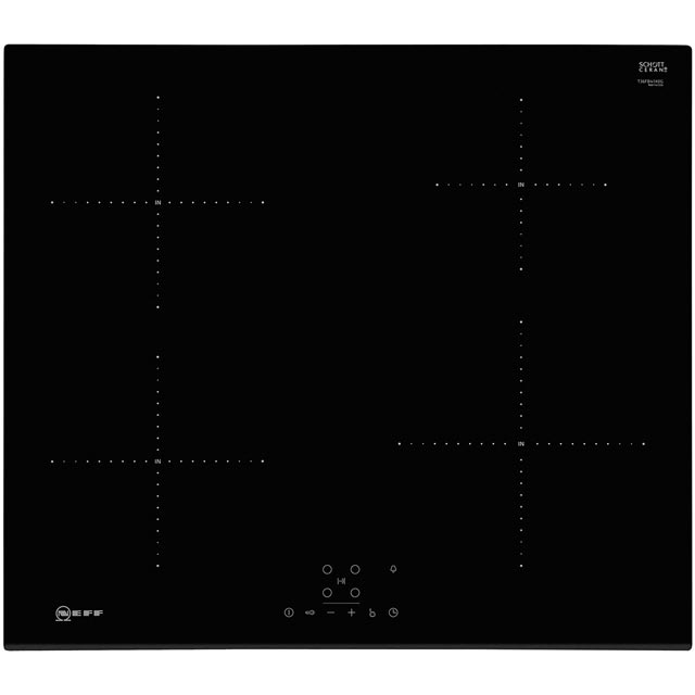 NEFF N30 T36FB41X0G 59cm Induction Hob - Black - T36FB41X0G_BK - 1