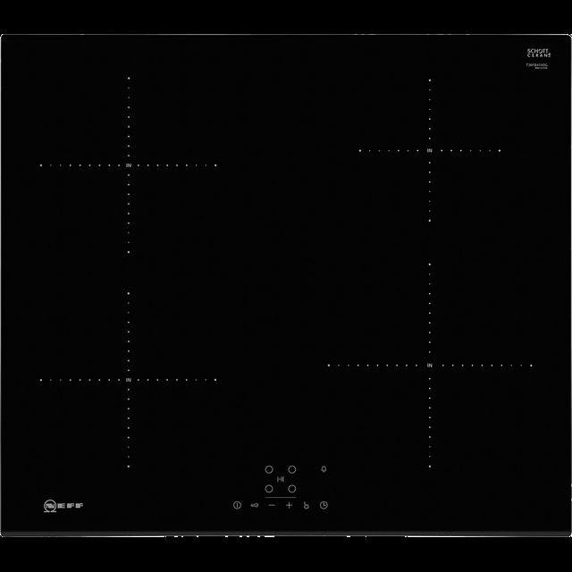 NEFF N50 T36FB41X0G Electric Induction Hob – Black, Black