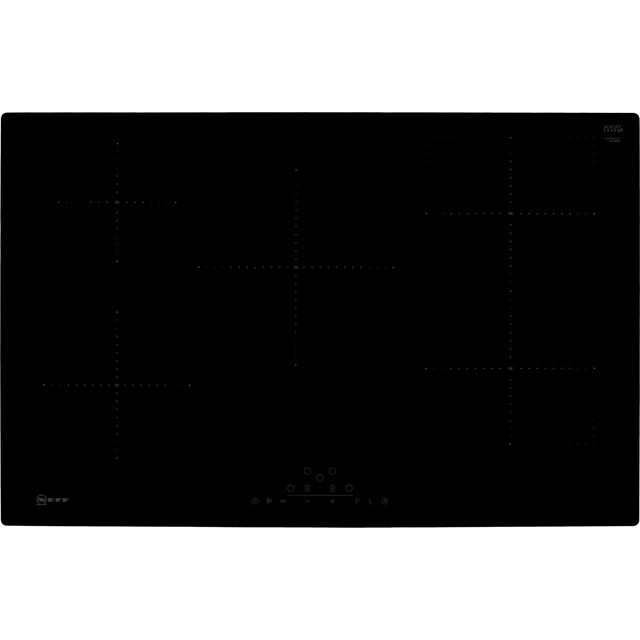 NEFF N70 T48PD23X2 Built In Induction Hob - Black - T48PD23X2_BK - 1