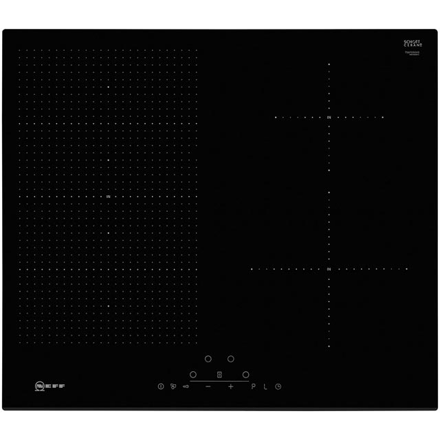 NEFF N70 T56FD50X0 59cm Induction Hob - Black - T56FD50X0_BK - 1