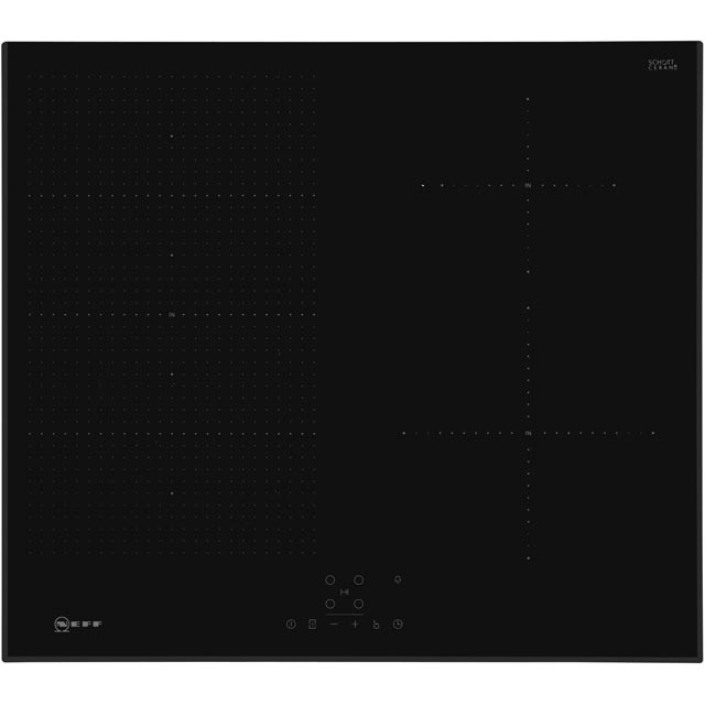 NEFF T56UB50X0 Built In Induction Hob - Black - T56UB50X0_BK - 1