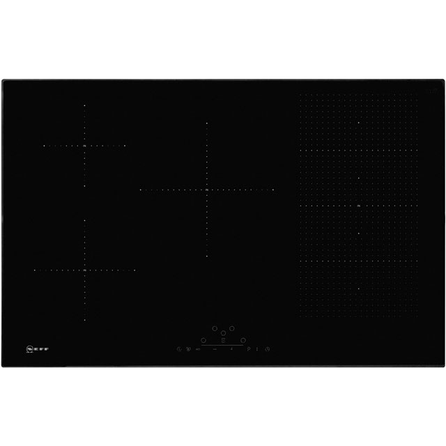 NEFF N70 T58FD20X0 Built In Induction Hob - Black - T58FD20X0_BK - 1