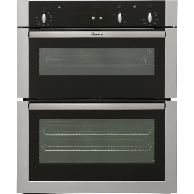 NEFF U17S32N5GB Built Under Double Oven - Stainless Steel - B/A Rated