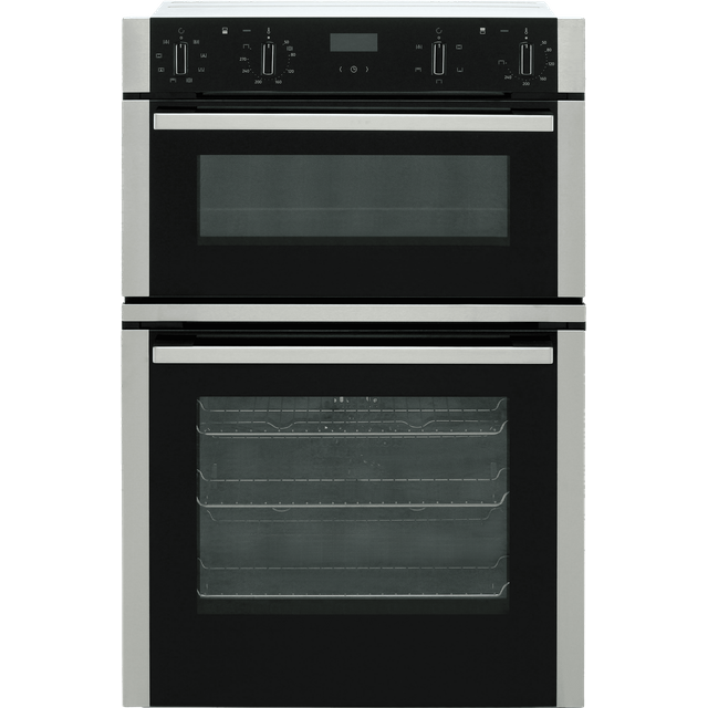 NEFF N50 U1ACE2HN0B Electric Double Oven – Stainless Steel, Stainless Steel