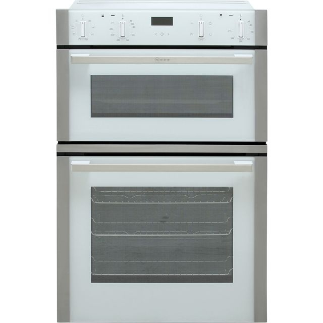 NEFF N50 U1ACE2HW0B Built In Double Oven - White - A/B Rated - U1ACE2HW0B_WH - 1