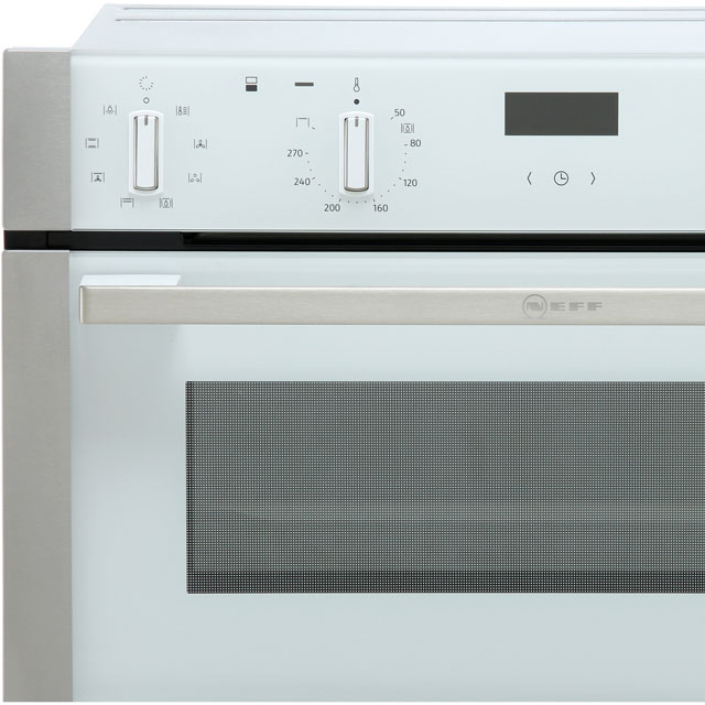 NEFF N50 U1ACE2HN0B Built In Double Oven - Stainless Steel - U1ACE2HN0B_SS - 4