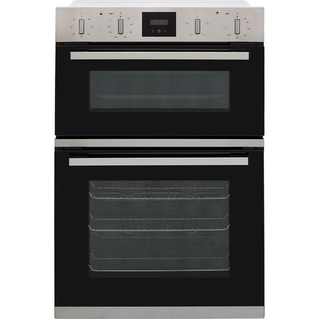 NEFF N30 U1GCC0AN0B Built In Double Oven - Stainless Steel - A/B Rated - U1GCC0AN0B_SS - 1