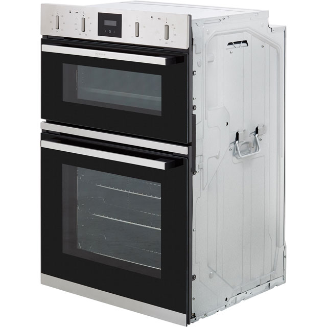 NEFF N30 U1GCC0AN0B Built In Double Oven - Stainless Steel - U1GCC0AN0B_SS - 5