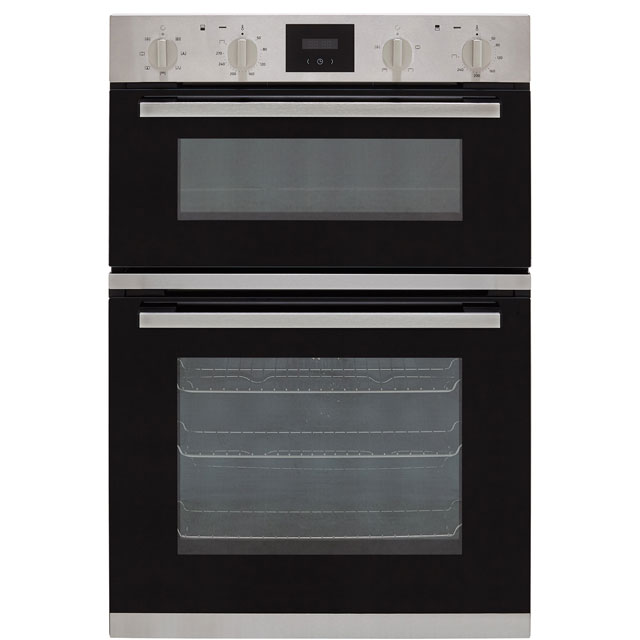 NEFF N30 U1HCC0AN0B Built In Electric Double Oven - Stainless Steel - U1HCC0AN0B_SS - 1